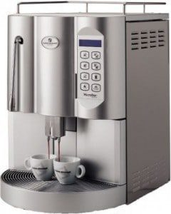 Commercial automatic coffee machine